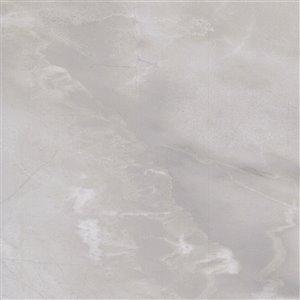 Mono Serra Porcelain Tile 36-in x 36-in Ice Gray 17.44 sq. ft. / case (2 pcs / case)