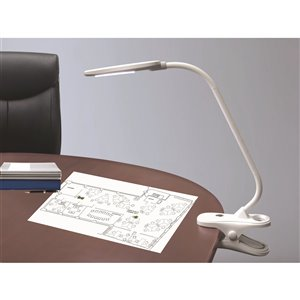 Royal Sovereign 2-in-1 LED Desk and Clip-On Lamp