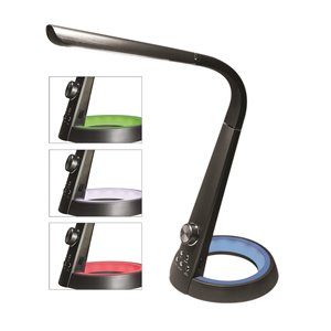 Royal Sovereign LED Desk Lamp with USB and Nightlight