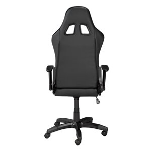 Brassex Sorrento Gaming Chair with Tilt and Recline Black