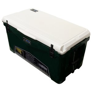 ProFrost Roto-Molded Cooler - 70-L - Green with White Lid