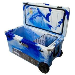 ProFrost Roto-Molded Cooler - 104-L - Blue/White Swirl