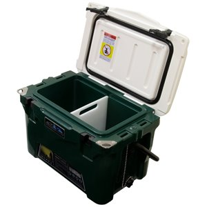 ProFrost Roto-Molded Cooler - 19-L - Green with White Lid