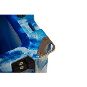 ProFrost Roto-Molded Cooler - 43-L - Blue/White Swirl