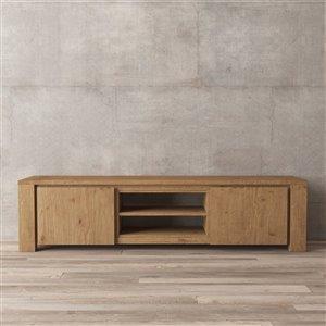 Urban Woodcraft Milan TV Stand - 71-in - Antique Pine
