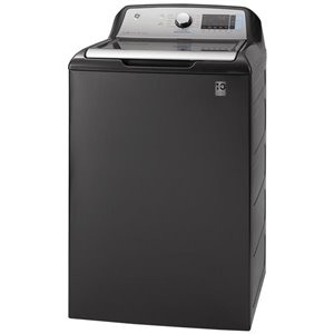 GE High-Efficiency Top-Load Washer (Diamond Grey) ENERGY STAR