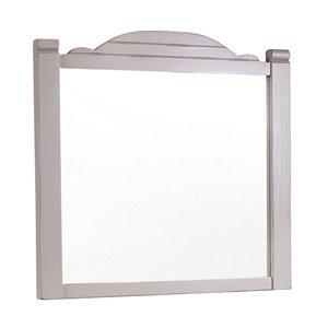 Sunset Trading Coastal Charm Wood Mirror - 29.5-in x 33.5-in - Grey