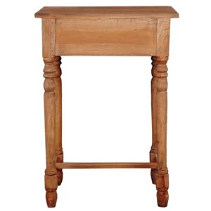 Sunset Trading Shabby Chic Cottage Desk - 13-in - Brown