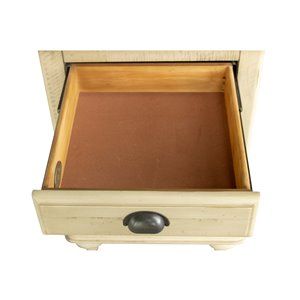 Sunset Trading Shades of Sand Nightstand - 30-in x 20-in - Brown