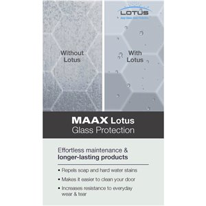 MAAX Utile Corner Shower Kit with Central Drain - 48-in x 32-in x 84-in - Thunder Grey/Dark Bronze - 5-Piece