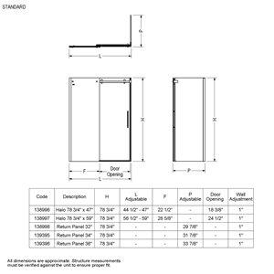 MAAX Utile Corner Shower Kit with Right Drain - 60-in x 32-in x 84-in - Origin Greige/Brushed Nickel - 5-Piece