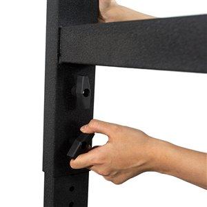 CAT Adjustable Workbench - 48-in x 25-in x 29-in - Black