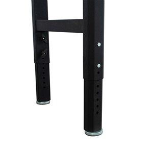 CAT Adjustable Workbench - 96-in x 25-in x 29-in - Black