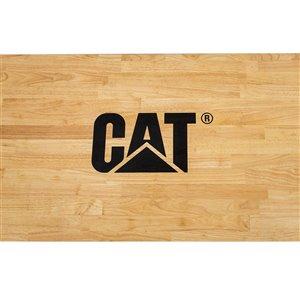 CAT Adjustable Workbench - 72-in x 25-in x 29-in - Black