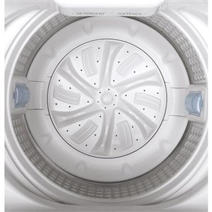 GE Portable Top-Load Washer (White)