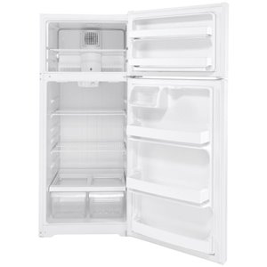 GE 17.5-cu ft Top-Freezer Refrigerator (White) ENERGY STAR