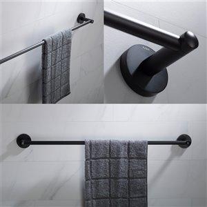 Kraus Elie Bathroom Accessory Set - 4 Pieces - Matte Black
