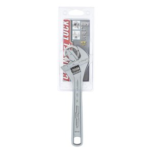 Channellock 8.21-in Adjustable Wrench - Steel - Reversible