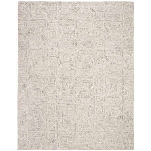 Safavieh Abstract Rectangular Area Rug Handcrafted 6 Ft X 9 Ft Light Blue Lowe S Canada