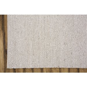 Collection Bourbon Street Louisville Area Rug - 5-ft x 8-ft - White/Cream