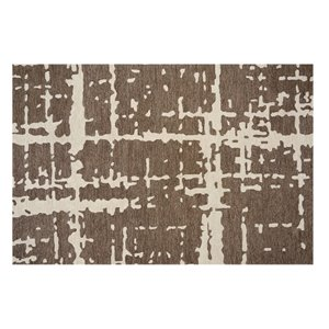 Collection Bourbon Street Fairhaven Area Rug - 5-ft x 8-ft - Brown