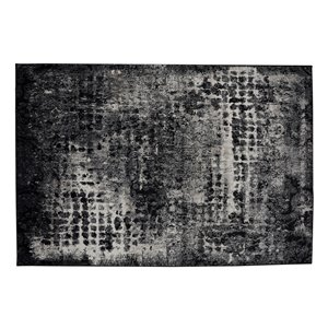 Collection Bourbon Street Anchorage Area Rug - 5-ft x 8-ft - Grey