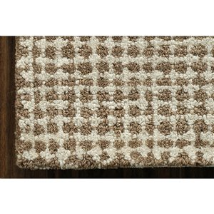 Collection Bourbon Street Stillwater Area Rug - 5-ft x 8-ft - Brown