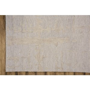 Collection Bourbon Street Fairhaven Area Rug - 5-ft x 8-ft - Ivory