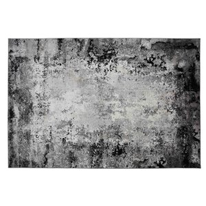 Collection Bourbon Street Pueblo Area Rug - 5-ft x 8-ft - Light Grey