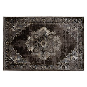 Collection Bourbon Street Albany Area Rug - 8-ft x 10-ft - Brown