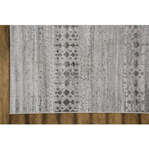 Collection Bourbon Street Anniston Area Rug - 8-ft x 10-ft - Ivory