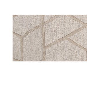 Collection Bourbon Street Eastport Area Rug - 8-ft x 10-ft - Ivory