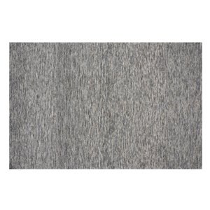 Collection Bourbon Street Greenfield Area Rug - 5-ft x 8-ft - Grey