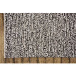 Collection Bourbon Street Louisville Area Rug - 5-ft x 8-ft - Brown
