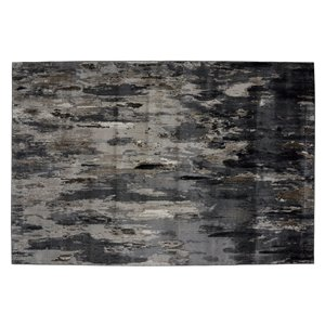 Collection Bourbon Street Bakersfield Area Rug - 8-ft x 10-ft - Grey