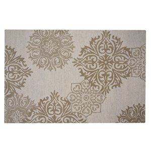Collection Bourbon Street Augusta Area Rug - 8-ft x 10-ft - Ivory
