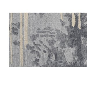 Collection Bourbon Street Northfield Area Rug - 8-ft x 10-ft - Light Grey
