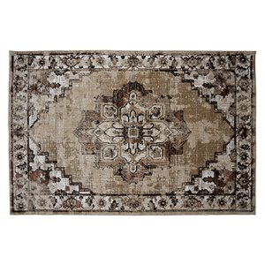 Collection Bourbon Street Albany Area Rug - 8-ft x 10-ft - Beige