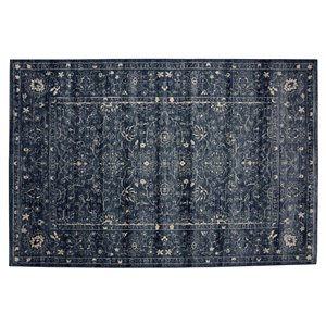Collection Bourbon Street Glenwood Area Rug - 8-ft x 10-ft - Blue