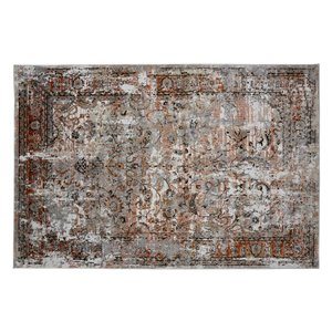 Collection Bourbon Street Fairfield Area Rug - 5-ft x 8-ft - Ivory