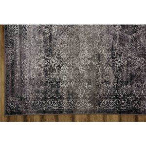 Collection Bourbon Street Huntsville Area Rug - 8-ft x 10-ft - Grey