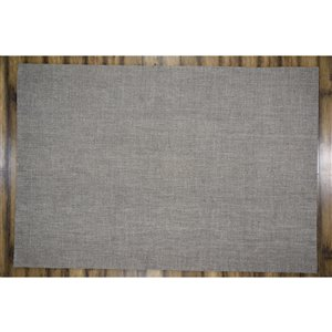 Collection Bourbon Street Burlington Area Rug - 5-ft x 8-ft - Grey