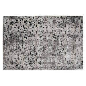 Collection Bourbon Street Stamford Area Rug - 8-ft x 10-ft - Light Grey