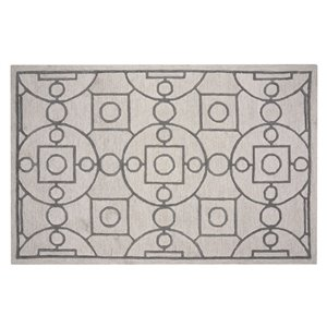 Collection Bourbon Street Annapolis Area Rug - 8-ft x 10-ft - Ivory