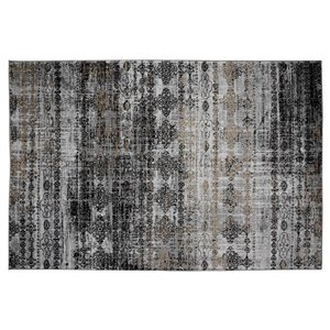 Collection Bourbon Street Pheonix Area Rug - 8-ft x 10-ft - Light Grey