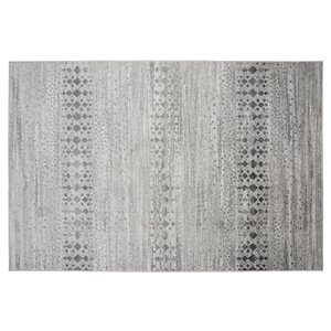Collection Bourbon Street Anniston Area Rug - 5-ft x 8-ft - Ivory