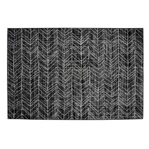 Collection Bourbon Street Birmingham Area Rug - 5-ft x 8-ft - Grey