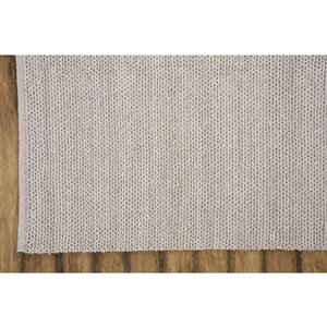 Collection Bourbon Street Louisville Area Rug - 8-ft x 10-ft - Beige