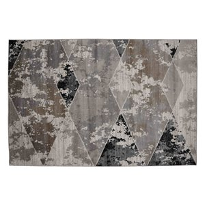 Collection Bourbon Street Montgomery Area Rug - 8-ft x 10-ft - Beige