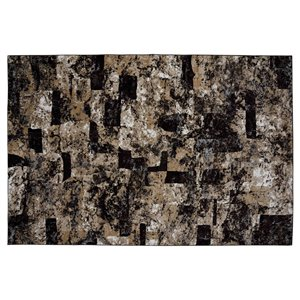 Collection Bourbon Street Lakeland Area Rug - 8-ft x 10-ft - Brown